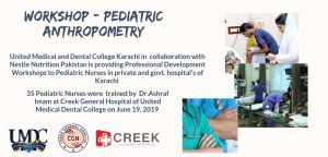 Notification -- Workshop - Pediatric Anthropometry